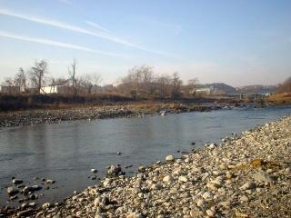 多摩川の光景