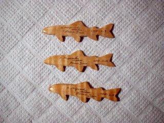 魚のウッドクラフト