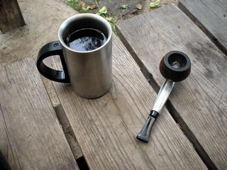 コーヒーとパイプ
