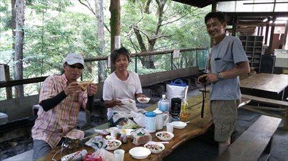 小菅村でキャンプとフライフィッシング