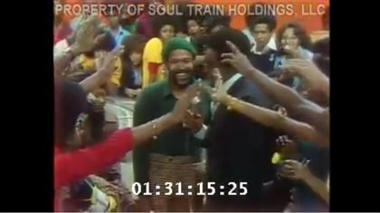 Marvin Gaye on Soul Train 1974