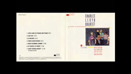 Charles Lloyd Quartet - Lady Day
