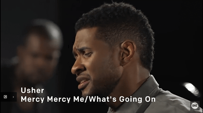 Usher - Mercy Mercy Me/What's Going On Medley