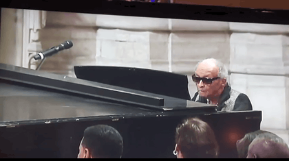 Cecil Taylor Piano at Ornette Coleman Memorial