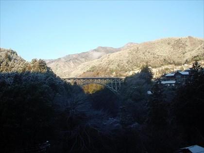 雪の後の奥多摩